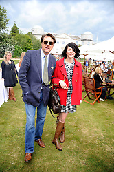 BRYAN FERRY and KATIE TURNER at the Cartier Style et Luxe, the Goodwood Festival of Speed, West Sussex on 13th July 2008.<br /> <br /> NON EXCLUSIVE - WORLD RIGHTS