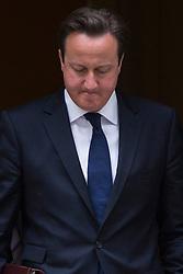 © licensed to London News Pictures. London, UK 26/06/2013. Prime minister David Cameron leaving Downing Street on Wednesday, 26 June 2013. Photo credit: Tolga Akmen/LNP