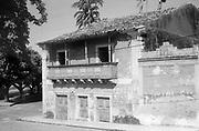 Sobrado, a rare example of balconies in Brazil, Olinda, Pernambuco, Brazil