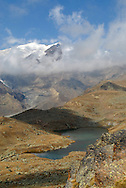 Val di Sole, Pejo giro dei 5 laghi, con il Ghiacciao Cevedale,15-09-2007 © foto Daniele Mosna