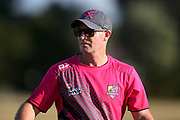 Knights T20 Coach Gareth Hopkins ahead of the T20 Super Smash cricket game, Knights v Volts played at Bay Oval, Mount Maunganui, New Zealand on Saturday 9 February 2019.<br /> <br /> Copyright photo: © Bruce Lim / www.photosport.nz
