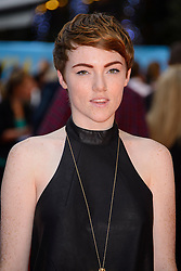 Image ©Licensed to i-Images Picture Agency. 12/08/2014. London, United Kingdom. <br /> Chloe Howl attends the What If - UK film premiere. Leicester Square. Picture by Chris Joseph / i-Images