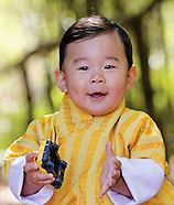 Prince Jigme Of Bhutan - 1st Birthday
