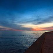 Today's Fall Sunrise  at Narragansett Town Beach, Narragansett, RI,  December 20, 2013. #beach #sunrise #rhodeisland