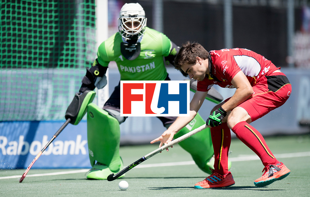 BREDA - Rabobank Hockey Champions Trophy<br /> 5th/6th place Belgium - Pakistan<br /> Belgium wins after shoot out.<br /> Photo: Arthur de Sloover.<br /> COPYRIGHT WORLDSPORTPICS FRANK UIJLENBROEK