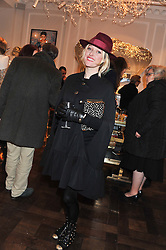 MATILDA TEMPERLEY at a party to celebrate thelaunch of Alice Temperley's flagship store Temperley, Bruton Street, London on 6th December 2012.
