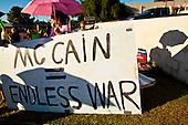 Protest Against US Sen. John McCain