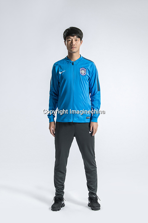 **EXCLUSIVE**Portrait of Chinese soccer player Tan Wangsong of Tianjin TEDA F.C. for the 2018 Chinese Football Association Super League, in Tianjin, China, 28 February 2018.