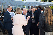 RICHARD CORK; JULIA PEYTON-JONES; MICHAEL CRAIG-MARTIN; HYAT PALUMBO, Party  to celebrate Julia Peyton-Jones's  25 years at the Serpentine. London. 20 June 2016