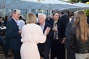RICHARD CORK; JULIA PEYTON-JONES; MICHAEL CRAIG-MARTIN; HYAT PALUMBO, Party  to celebrate Julia Peyton-Jones's  25 years at the Serpentine. London. 20 June 2016