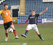 Dundee's Jim McAlister and Partick Thistle's Stephen O'Donnell - Dundee v Partick Thistle, SPFL Premiership at Dens Park<br /> <br />  - &copy; David Young - www.davidyoungphoto.co.uk - email: davidyoungphoto@gmail.com