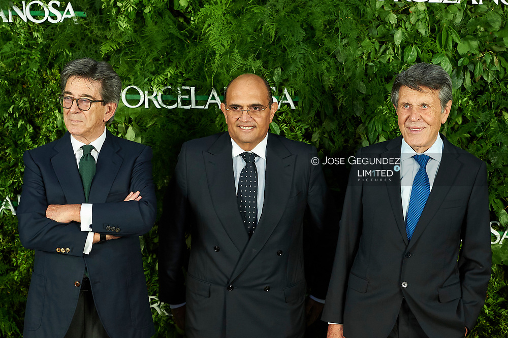 Hector Colonques, Manuel Colonques attended the Opening of a Porcelanosa store on June 14, 2017 in Madrid