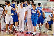 DESCRIZIONE : Teramo Giochi del Mediterraneo 2009 Mediterranean Games Italia Italy Montenegro Preliminary Men<br /> GIOCATORE : Andrea Cinciarini Daniele Cinciarini<br /> SQUADRA : Italia Italy<br /> EVENTO : Teramo Giochi del Mediterraneo 2009<br /> GARA : Italia Italy Montenegro<br /> DATA : 29/06/2009<br /> CATEGORIA : ritratto<br /> SPORT : Pallacanestro<br /> AUTORE : Agenzia Ciamillo-Castoria/G.Ciamillo