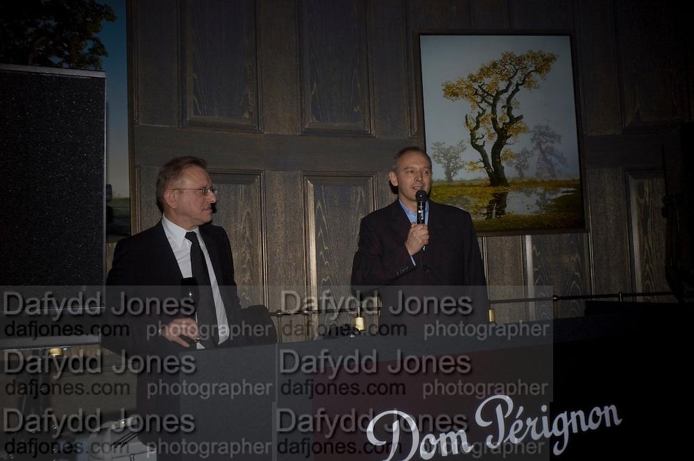 Dom Perignon and Claudia Schiffer host a celebration of Dom Perignon Oenotheque 1995. The Landau, Portland Place. London W1. 26 February 2008.  *** Local Caption *** -DO NOT ARCHIVE-© Copyright Photograph by Dafydd Jones. 248 Clapham Rd. London SW9 0PZ. Tel 0207 820 0771. www.dafjones.com.