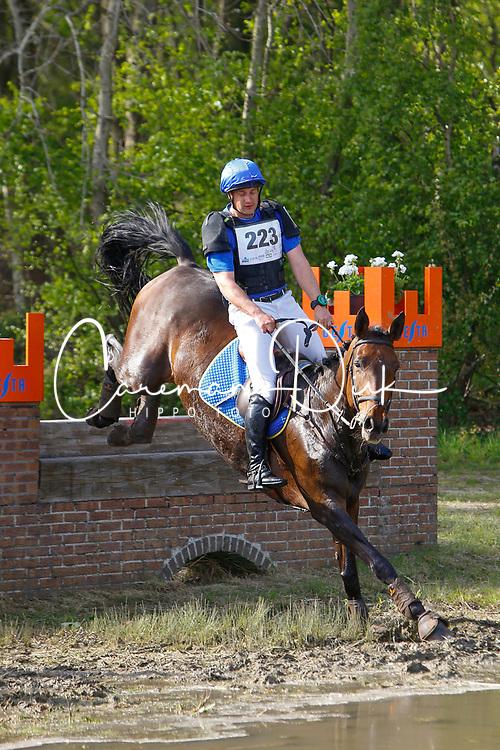 Van Asselberghs Philippe, BEL, Esprit<br /> Nationale LRV-Eventingkampioenschap Minderhout 2017<br /> &copy; Hippo Foto - Kris Van Steen<br /> 30/04/17