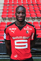 Yacouba Sylla - 15.09.2015 - Photo officielle Rennes - Ligue 1 2015/2016<br /> Photo : Philippe Le Brech / Icon Sport