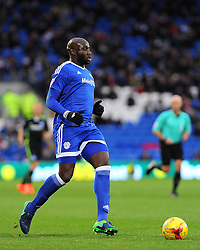 Souleymane Bamba of Cardiff City in action - Mandatory by-line: Nizaam Jones/JMP - 03/12/2016 -  FOOTBALL - Cardiff City Stadium - Cardiff, Wales -  Cardiff City v Brighton and Hove Albion - Sky Bet Championship