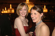 OLIVIA DAWNAY AND CAROLINE GUEST, The Royal Caledonian charity Ball 2006.Grosvenor House. London. 5 May 2006. . ONE TIME USE ONLY - DO NOT ARCHIVE  © Copyright Photograph by Dafydd Jones 66 Stockwell Park Rd. London SW9 0DA Tel 020 7733 0108 www.dafjones.com