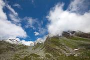 Monts de Cion, above Cabane du Mont Fort, Switzerland.