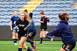 Cara Brincat of Worcester Valkyries during the pre match warm up - Mandatory by-line: Craig Thomas/JMP - 30/09/2017 - RUGBY - Sixways Stadium - Worcester, England - Worcester Valkyries v Saracens Women - Tyrrells Premier 15s