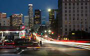 Los Angeles Downtown at Dusk