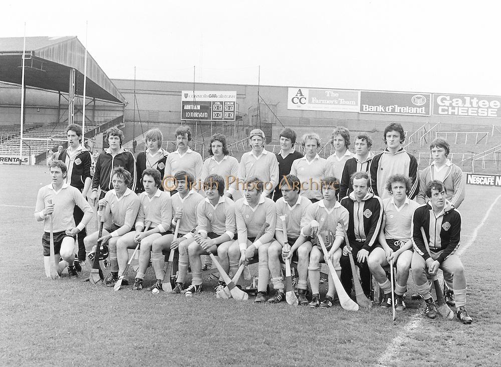 Hurling Final - Antrim v London at Croke Park..25.06.1978  25th June 1978
