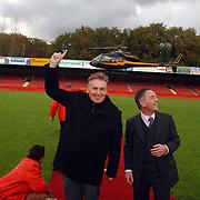 Boekpresentatie Henny Huisman AZ Stadion,