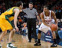 Virginia Cavaliers G Calvin Baker (4)..The Virginia Cavaliers men's basketball team defeated the Vermont Catamounts 90-72 at the John Paul Jones Arena in Charlottesville, VA on November 11, 2007.