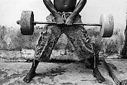 Zanzibar Town, Zanzibar -   2015-03-27  -  A recovering addict exercises at Detroit Sober House in Zanzibar Town, Zanzibar on March 27, 2015.  Photo by Daniel Hayduk