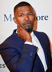 Jamie Foxx and Jacques Morel are seen attending Storytellers: Jamie Foxx during the 2018 Tribeca Film Festival at BMCC Tribeca PAC in New York City. NON-EXCLUSIVE April 23, 2018. 23 Apr 2018 Pictured: Jamie Foxx. Photo credit: Nancy Rivera/Bauergriffin.com / MEGA TheMegaAgency.com +1 888 505 6342