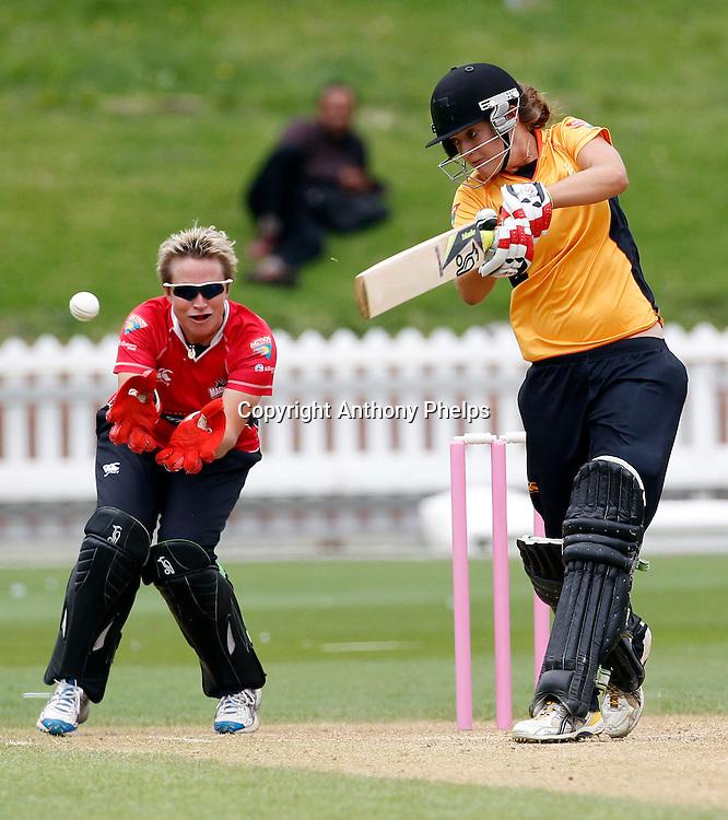 Wellington Blaze's Sarah Taylor, Action Cricket Twenty20 Final, Blaze v Magicians. Basin Reserve, Wellington. Saturday 5 February 2011. Photo: Anthony Phelps/PHOTOSPORT