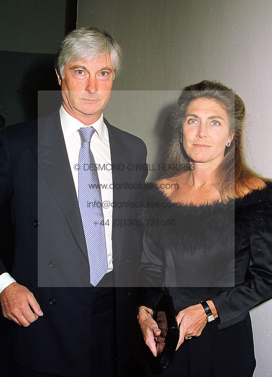 PRINCE & PRINCESS NICHOLAS VON PREUSSEN at a party in London on 4th November 1998.MLO 75