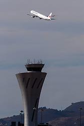 Boeing 777-346(ER) (JA742J) operated by Japan Airlines departing San Francisco International Airport (KSFO), San Francisco, California, United States of America
