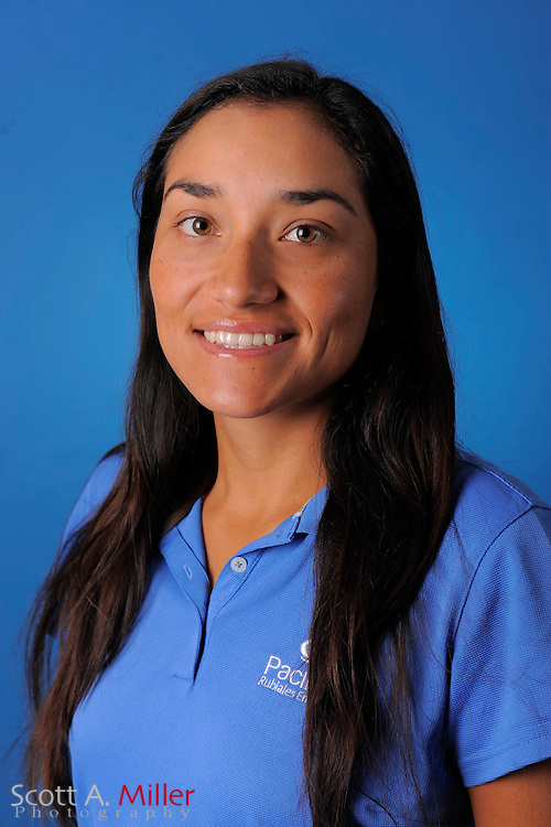 Eileen Vargas during a portrait session prior to the second stage of LPGA Qualifying School at the Plantation Golf and Country Club on Sept. 25, 2011 in Venice, FL...©2011 Scott A. Miller