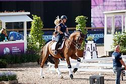 Max-Theurer Victoria, AUT, Blind Date 25<br /> Training dressage<br /> European Championships Göteborg 2017<br /> © Hippo Foto - Stefan Lafrenz