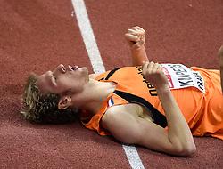 07-03-2015 CZE: European Athletics Indoor Championships, Prague<br /> Thijmen Kupers plaatst zich voor de 800 meter finale