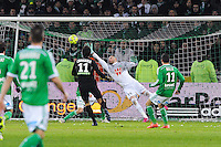 Goal Pablo CHAVARRIA - 06.02.2015 - Saint Etienne / Lens - 24eme journee de Ligue 1 -<br />