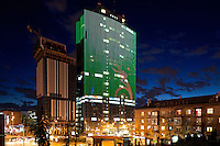 "Gulliver business and trade centre at night. Kyiv, Ukraine.<br /> Вечерняя фотосъемка БЦ ""Гулливер"", Киев."