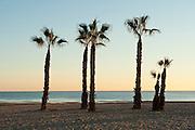 San Juan beach sunrise, Alicante,Spain, Europe