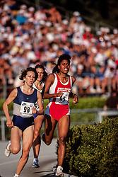 Judi Brown-King, 400 hurdles, Prefontaine Classic track and field meet, Hayward Field, University of Oregon, Eugene, Oregon, USA