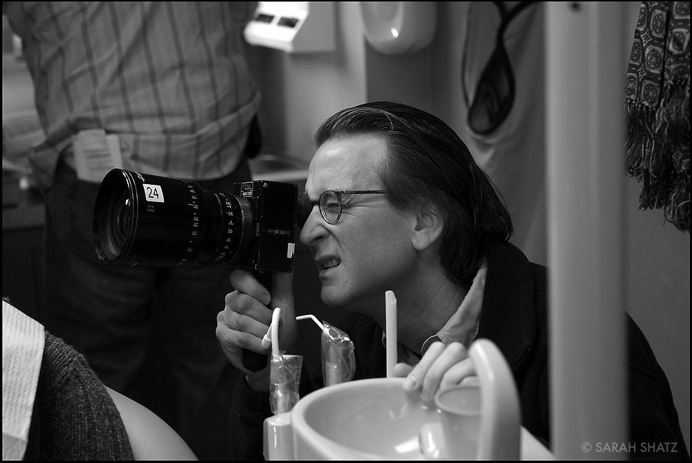 "David Koepp, Writer/director on the set of ""Ghost Town"" (Dir: David Koepp, 2008)"
