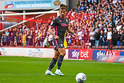 Leeds United midfielder Kalvin Phillips (23) during the EFL Sky Bet Championship match between Barnsley and Leeds United at Oakwell, Barnsley, England on 15 September 2019.