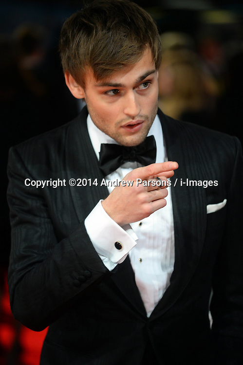 Douglas Booth arrives for the EE BRITISH ACADEMY FILM AWARDS 2014 (BAFTA) at the The Royal Opera House in Covent Garden . London, United Kingdom. Sunday, 16th February 2014. Picture by Andrew Parsons / i-Images