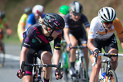 Alena Amialiusik (BLR) of CANYON//SRAM Racing launches an attack in the penultimate lap of the 121.5 km road race of the UCI Women's World Tour's 2016 Grand Prix Plouay women's road cycling race on August 27, 2016 in Plouay, France. (Photo by Balint Hamvas/Velofocus)