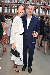 Ben Goldsmith and Jemima Goldsmith at the Victoria & Albert Museum's Summer Party in partnership with Harrods at The V&A Museum, Exhibition Road, London, England. 20 June 2018.