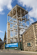 19th century water tower structure in the GWR railway works, Swindon, Wiltshire, England, UK