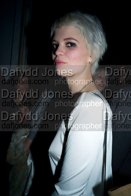 PIXIE GELDOF, The Elle Style Awards 2009, The Big Sky Studios, Caledonian Road. London. February 9 2009.  *** Local Caption *** -DO NOT ARCHIVE -Copyright Photograph by Dafydd Jones. 248 Clapham Rd. London SW9 0PZ. Tel 0207 820 0771. www.dafjones.com<br /> PIXIE GELDOF, The Elle Style Awards 2009, The Big Sky Studios, Caledonian Road. London. February 9 2009.