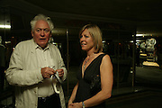 Edward Booth-Clibborn and Jude Tyrrell, Beyond Belief-Damien Hirst. White Cube Hoxton and Mason's Yard.Party  afterwards at the Dorchester. Park Lane. 2 June 2007.  -DO NOT ARCHIVE-© Copyright Photograph by Dafydd Jones. 248 Clapham Rd. London SW9 0PZ. Tel 0207 820 0771. www.dafjones.com.