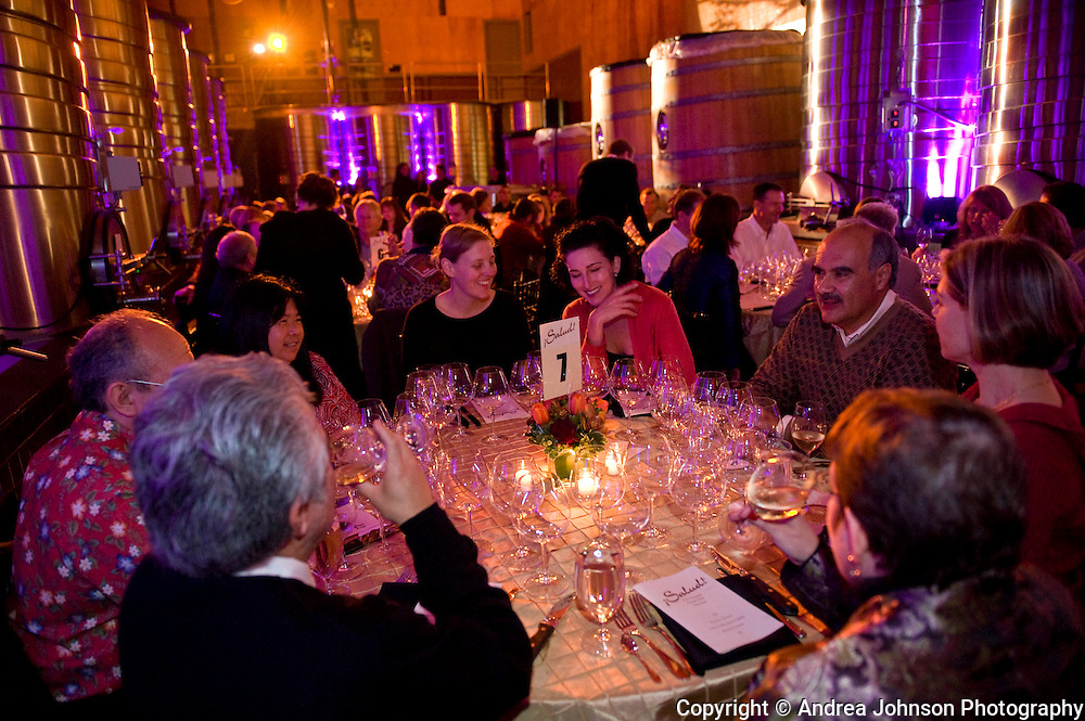 Salud Oregon Pinot Noir auction, 2008.