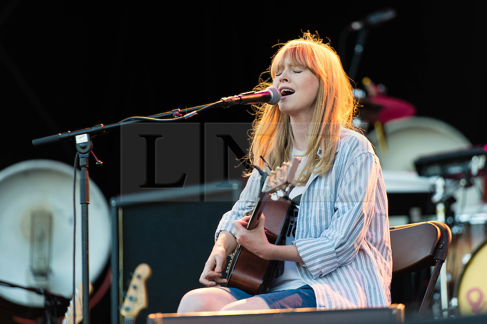© Richard Isaac. 11/07/2013.   London,UK.  Lucy Rose performing live at Kew Gardens, supporting headliner Paul Weller  Lucy Rose is an English singer-songwriter from Warwickshire, England.  Her solo debut album, Like I Used To was released in September 2012. Photo credit & Copyright : Richard Isaac.  www.richardisaac.co.uk www.facebook.com/richardisaacmusicphotography www.twitter.com/richardjisaac